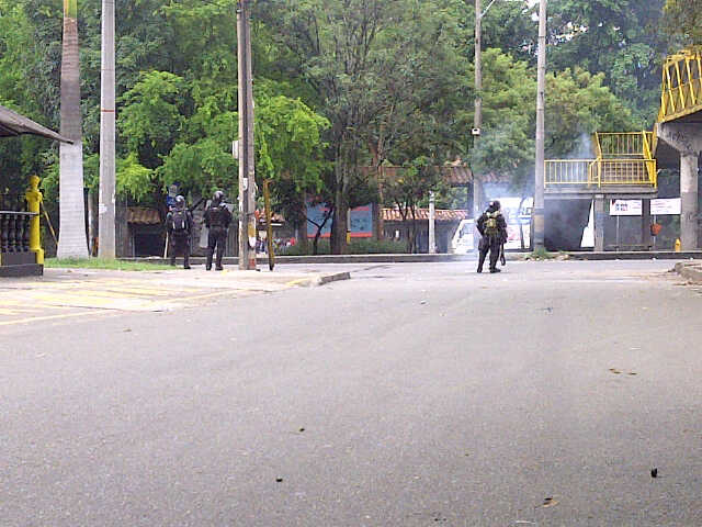 Disturbios en la Universidad de Antioquia | Análisis urbano